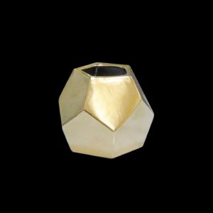 Florero Penta Gold S