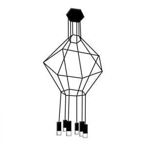 Lampara de techo Hexagonal Pendant