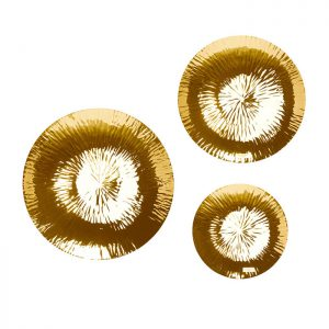Hanging Plate Gold