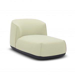 Chaise Lounge Tela Fulu - Beige