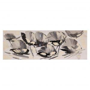 Cuadro 150 x 50 Amarillys Grey 1